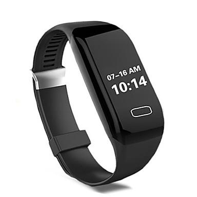 Herrn Smart Uhr digital Silikon Band Schwarz Lila