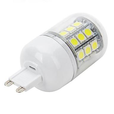 5W G9 أضواء LED Bi Pin 30 المصابيح مصلحة الارصاد الجوية 5050 أبيض كول 450-550lm 6500K AC 220-240V