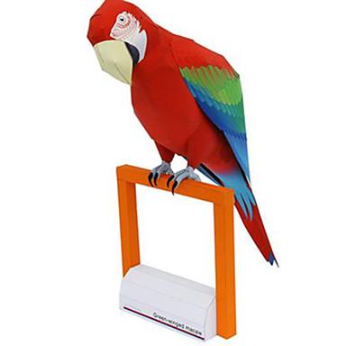 Puzzle 3D Modelul de hârtie Μοντέλα και κιτ δόμησης Jucarii Pătrat Parrot Animale Reparații Hârtie Rigidă pentru Felicitări Ne Specificat