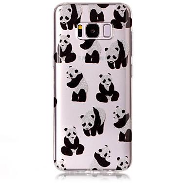 Hülle Für Samsung Galaxy S8 Plus S8 IMD Muster Rückseitenabdeckung Glänzender Schein Panda Weich TPU für S8 S8 Plus S7 edge S7 S6 edge S6