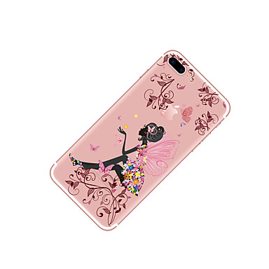 disegno Sexy Morbido iPhone 8 retro Per 8 Plus Fiore TPU Farfalla iPhone iPhone per 8 Plus Transparente iPhone Fantasia decorativo iPhone iPhone Per 06037054 X Apple X Custodia 8 UEZXqwPq