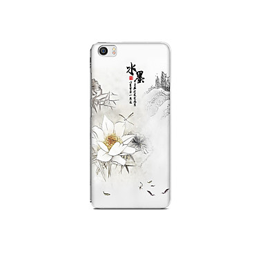 Pentru Xiaomi mi 5 caz acoperă model spate acopere cazul de peisaj floare moale tpu