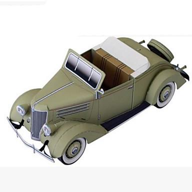 Jucării pentru mașini Puzzle 3D Modelul de hârtie Lucru Manual Din Hârtie Pătrat 3D Simulare Reparații Hârtie Rigidă pentru Felicitări