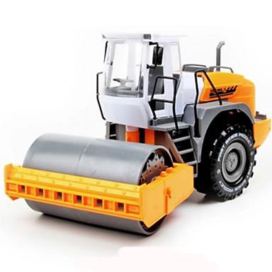 Speelgoedauto's Speeltjes Terugtrekauto/Inertie-auto Motorfietsen Constructievoertuig Vuilverdichter Motorgrader Speeltjes Simulatie