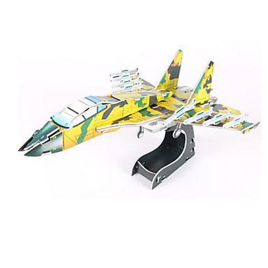 3D-puzzels Modelbouwsets Vliegtuig Vechter DHZ Korkealaatuinen paperi Klassiek Kinderen Meisjes Jongens Unisex Geschenk