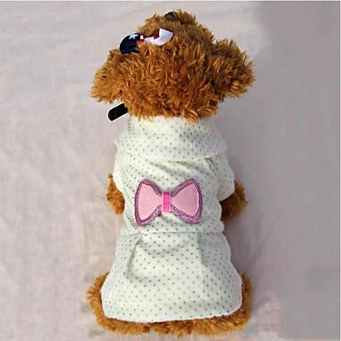 Hund Kleider Hundekleidung Lässig/Alltäglich Prinzessin Beige Rosa Kostüm Für Haustiere