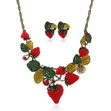 Pentru femei Pandative Coliere Ferroalloy Aliaj Metalic Reșină Ștras Geometric Shape Floare Floral Stil Floral Stil Atârnat Pandantiv