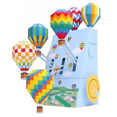 3D-puzzels Ballen Bouwplaat Ballonnen Papierkunst Modelbouwsets Architectuur DHZ Opblaasbaar Feest Klassiek Unisex Geschenk