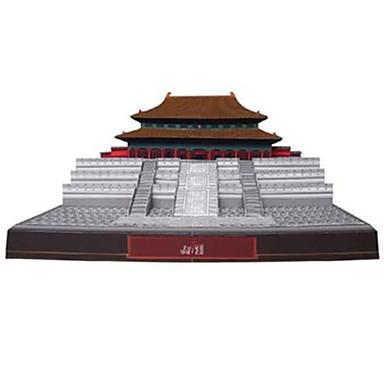 3D - Puzzle Papiermodel Berühmte Gebäude Chinesische Architektur Verbotene Stadt Heimwerken Hartkartonpapier Chinesischer Stil Kinder