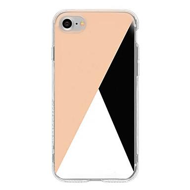 غطاء من أجل Apple iPhone 7 Plus iPhone 7 نموذج غطاء خلفي نموذج هندسي ناعم TPU إلى iPhone 7 Plus iPhone 7 iPhone 6s Plus ايفون 6s iPhone 6
