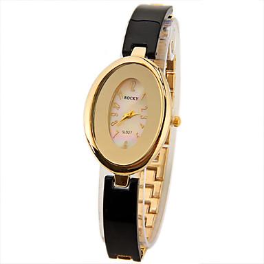 Pentru femei Ceas La Modă Unic Creative ceas Simulat Diamant Ceas Chineză Quartz imitație de diamant Metal Bandă Sclipici Alb Maro Auriu