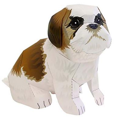 قطع تركيب3D نموذج الورق ألعاب مربع كلاب أسد الحيوانات اصنع بنفسك ورق صلب غير محدد قطع