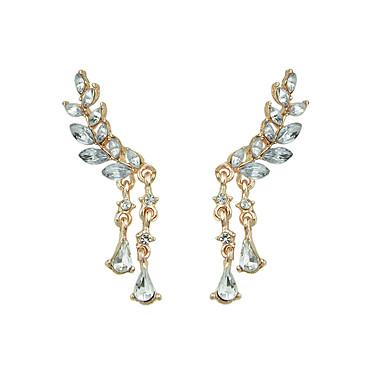 Damen Tropfen-Ohrringe - Grundlegend Gold Silber Ohrringe Für Normal