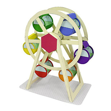 Puzzle 3D Modelul de hârtie Lucru Manual Din Hârtie Μοντέλα και κιτ δόμησης Circular Reparații Clasic Pentru copii Unisex Cadou