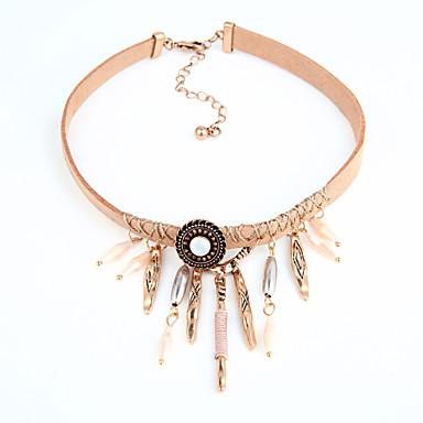 Damen Halsketten - Euramerican Modisch Schwarz Hellbraun Modische Halsketten Für Hochzeit Einweihungsparty Veranstaltung / Fest