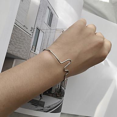 Damen Manschetten-Armbänder Modisch Aleación Schmuck Für Lässig/Alltäglich