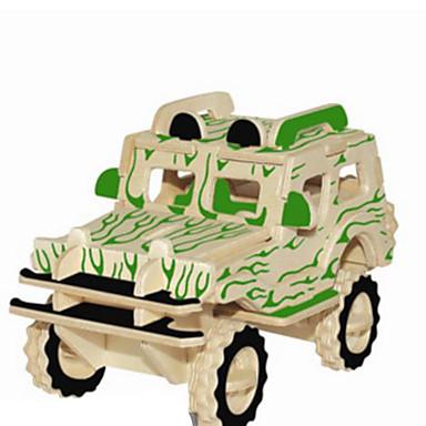 Puzzle 3D Puzzle Metal Modelul lemnului Μοντέλα και κιτ δόμησης Jucarii Mașină Reparații Lemn natural Ne Specificat Bucăți