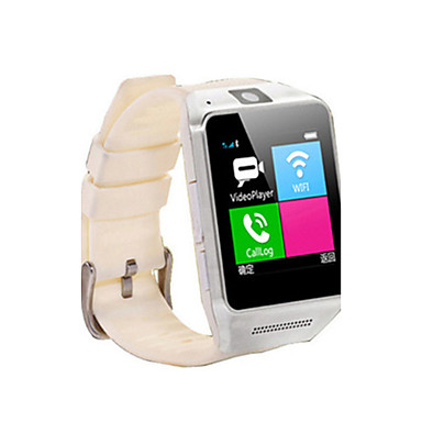 Herrn Damen Smart Uhr Modeuhr digital Wasserdicht Caucho Band Schwarz Weiß Orange