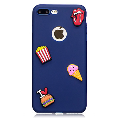 da iPhone 8 Morbido iPhone 8 Plus te Fantasia Custodia Fai Apple iPhone Per 8 X retro iPhone 05994878 disegno X Per TPU per Alimenti iPhone iPhone Xqnn6Izw
