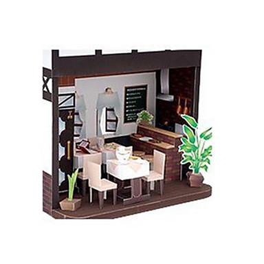 Puzzle 3D Modelul de hârtie Jucarii Clădire celebru Casă Arhitectură 3D Reparații Ne Specificat Bucăți