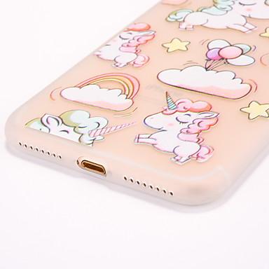 Morbido TPU Apple Per Fantasia retro Plus iPhone Palloncini 05994891 Plus 8 8 disegno iPhone per iPhone iPhone Custodia Per Traslucido Effetto 8 8 iPhone Plus ghiaccio 7 Unicorno Tawqqd5v