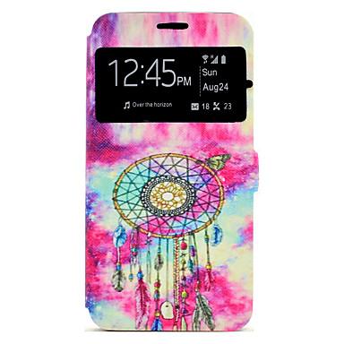 Hülle Für Samsung Galaxy A5(2017) A3(2017) Kreditkartenfächer mit Halterung Muster Handyhülle für das ganze Handy Traumfänger Hart