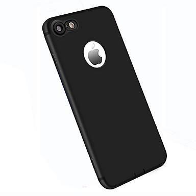 Voor Hoesje cover Mat Achterkantje hoesje Effen Kleur Zacht TPU voor AppleiPhone 7 Plus iPhone 7 iPhone 6s Plus iPhone 6 Plus iPhone 6s