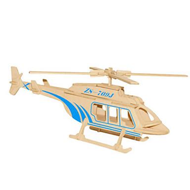 Puzzle 3D Puzzle Metal Modelul lemnului Μοντέλα και κιτ δόμησης Jucarii Elicopter Reparații Lemn natural Ne Specificat Bucăți
