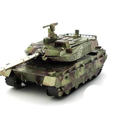 3D - Puzzle Holzpuzzle Metallpuzzle Modellbausätze Panzer Heimwerken Chrom Metal Klassisch Chinesischer Stil Unisex Geschenk
