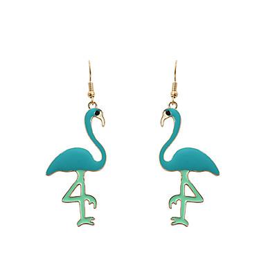 Pentru femei Cercei Picătură - Animal Personalizat, Modă, Euramerican Verde Pentru Nuntă / Aniversare / Inaugurare a unei case