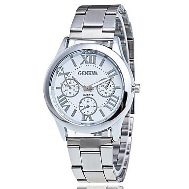 Bărbați Ceas Elegant Ceas La Modă Ceas de Mână Unic Creative ceas Ceas Casual Chineză Quartz Aliaj Bandă Charm Casual Elegant Argint