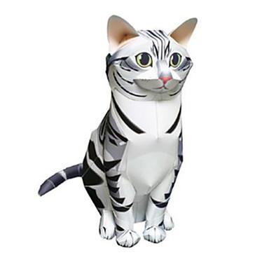 قطع تركيب3D نموذج الورق ألعاب مربع بطة الحيوانات اصنع بنفسك غير محدد قطع