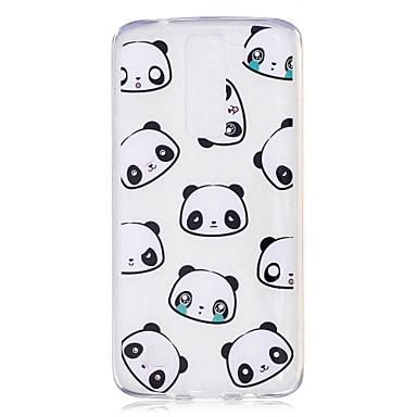 Fall für lg h502 x power Fallabdeckung Pandamuster gemaltes hohes penetration tpu Material imd Prozess weiche Falltelefonkasten k8