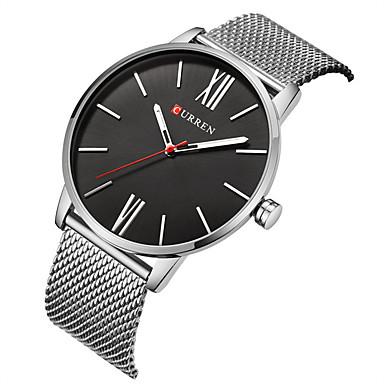 Bărbați Quartz Ceas de Mână Uita-te inteligent Ceas Schelet Ceas Sport Chineză Mare Dial Rezistent la Șoc Aliaj Bandă Charm Creative