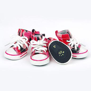 Hond Schoenen & Laarzen Casual/Dagelijks Sport Jeans Blauw Roze Voor huisdieren
