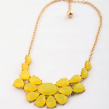 Pentru femei Coliere Flower Shape Aliaj La modă Ajustabile Personalizat Cute Stil Bijuterii Pentru Zi de Naștere Zilnic Ceremonie Concediu