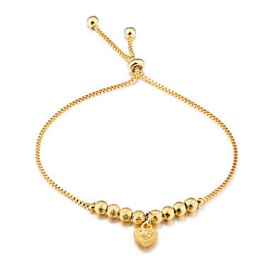 Dames Verguld Armbanden met ketting en sluiting - Luxe Modieus Rond Goud Armbanden Voor Bruiloft Feest Verjaardag