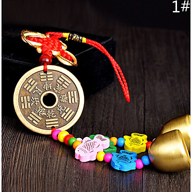 Tas / telefoon / sleutelhanger charme jingle bell cartoon speelgoed chinese stijl metaal
