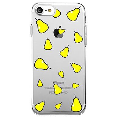 آيفون 7 زائد 7 حالة الغطاء الشفاف نمط الغطاء الخلفي حالة الكرتون الفاكهة لينة تبو ل فون 6 ثانية زائد 6 ثانية 6 زائد 6 5 ثانية 5 سي