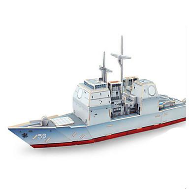 3D - Puzzle Holzpuzzle Holzmodell Spielzeuge Kriegsschiff Schiff 3D Holz keine Angaben Stücke