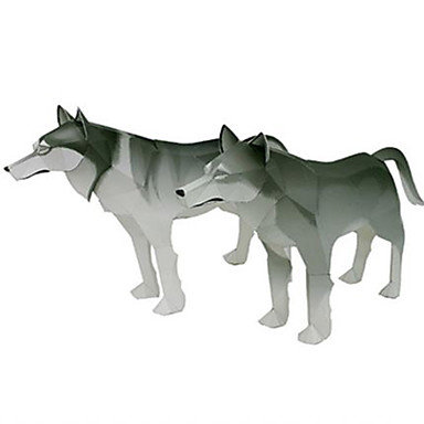 Kit Lucru Manual Puzzle 3D Modelul de hârtie Jucarii Pătrat Animale Reparații Ne Specificat Bucăți