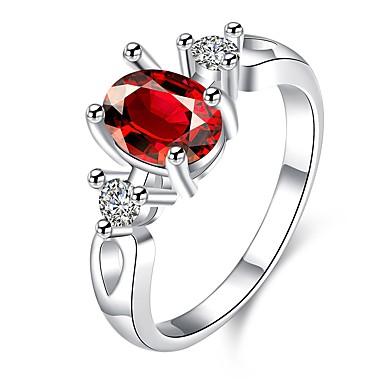 Damen Ring Kristall Kubikzirkonia Basis Einzigartiges Design Tattoo Stil Natur Geometrisch Kreis Freundschaft nette Art Euramerican