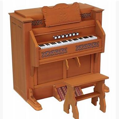 3D-puzzels Bouwplaat Speelgoedinstrumenten Modelbouwsets Papierkunst Speeltjes Vierkant Piano Muziekinstrumenten 3D DHZ Inrichting