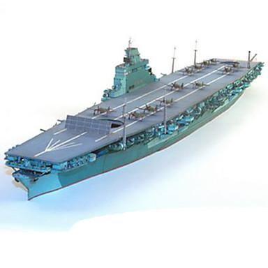 3D-puzzels Bouwplaat Vierkant Oorlogsschip Vliegdekschip DHZ Hard Kaart Paper Vliegdekschip Unisex Geschenk