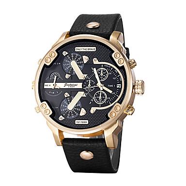 Herrn Armbanduhr Armband-Uhr Militäruhr Kleideruhr Modeuhr Sportuhr Armbanduhren für den Alltag Chinesisch Quartz Kalender Großes