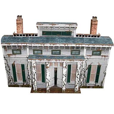 Puzzle 3D Modelul de hârtie Lucru Manual Din Hârtie Μοντέλα και κιτ δόμησης Clădire celebru Arhitectură 3D Articole de mobilier Reparații