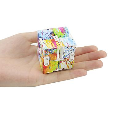 Cuburi de infinit Fidget Jucarii Alină Stresul Jucarii Pătrat Plastice Bucăți Bărbați Pentru femei Cadou