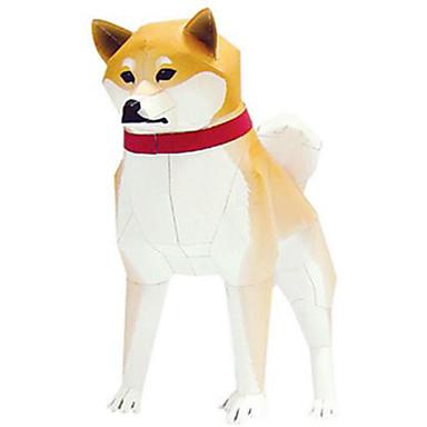 قطع تركيب3D نموذج الورق مجموعات البناء الحيوانات اصنع بنفسك ورق صلب للأطفال للجنسين هدية