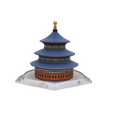 3D - Puzzle Papiermodel Modellbausätze Papiermodelle Spielzeuge Berühmte Gebäude Chinesische Architektur Architektur 3D Tempel des Himmels