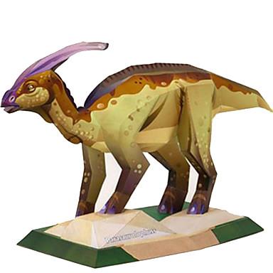 Puzzle 3D Modelul de hârtie Μοντέλα και κιτ δόμησης Pătrat Rață Dinosaur Reparații Hârtie Rigidă pentru Felicitări Clasic Unisex Cadou
